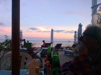 taken on Sanur Beach in the South East of Bali, near to where Pete & Lottie were living in 2013