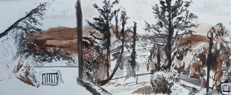 Drawing from Jardin de Mota