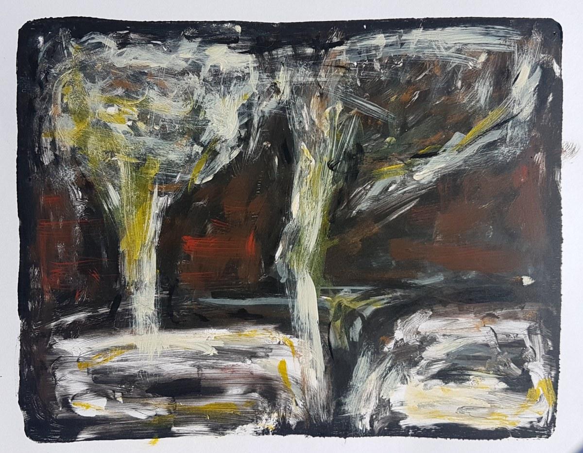 Atmosfear, Monoprint, 2019. £40