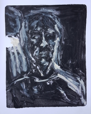 Selfie III, Monoprint, 2019, £30