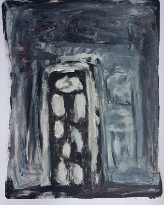 Tower II, Monoprint, 2019, £40